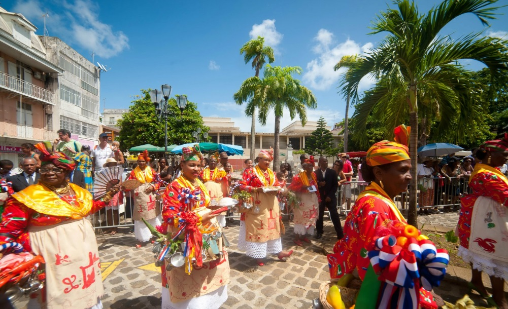 La Martinique a enfin son drapeau et son hymne officiels